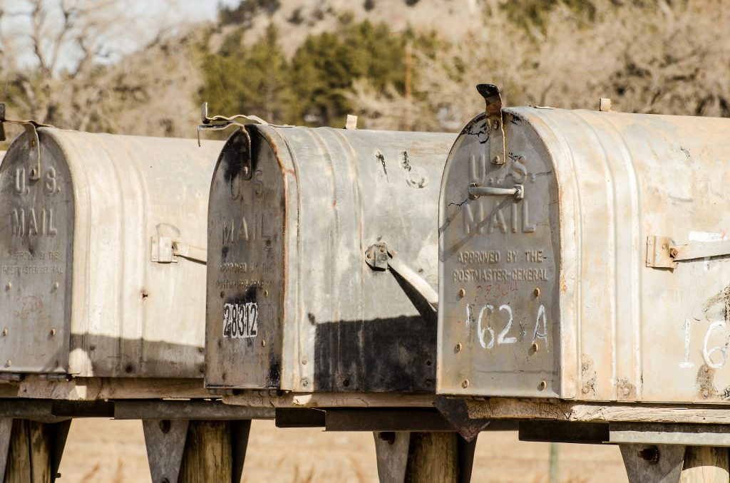 Before you move, don't forget to forward mail to your new address.