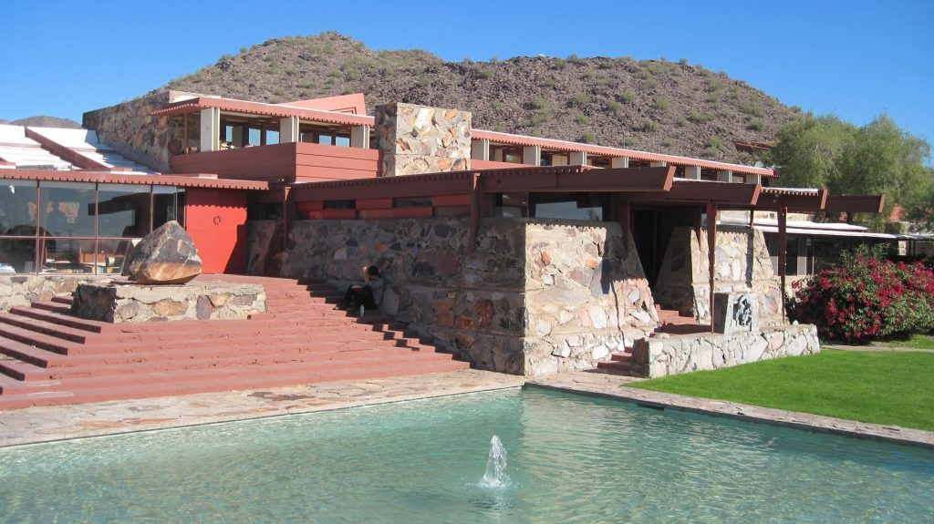 Famed architect Frank Lloyd Wright loved Phoenix in his later years and left several examples of his Craftsman-style buildings around the Valley.